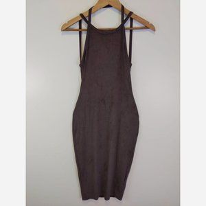 Coco & Yves Suede Dress Small